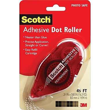 Scotch® Adhesive Dot Roller, .31