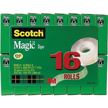Scotch® Magic™ Tape Value Pack, 3/4