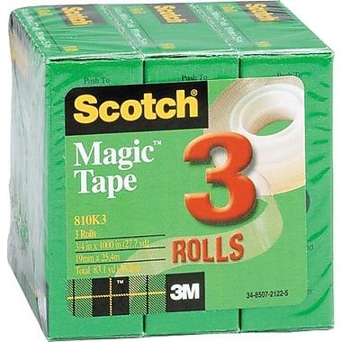 Scotch® Magic™ Tape, 3/4