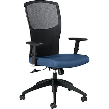 Global® Alero Executive High-Back Mesh Tilter, Admiral