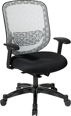 Office Star Space® Mesh Executive DuraFlex Chair, White