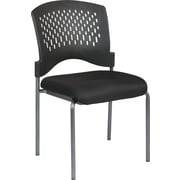 Office Star Proline II Metal Visitors Chair, Black (8620-231)