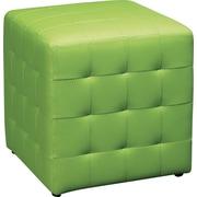 "Office Star Avenue Six® Detour 15"" Fabric Cube, Green"