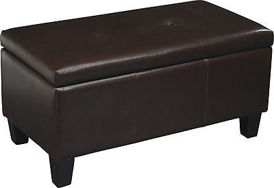 Office Star Avenue Six Detour Storage Ottoman,