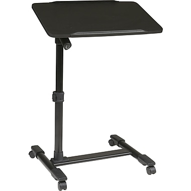 Office Star OSP® Designs Steel Mobile Laptop Cart, Black