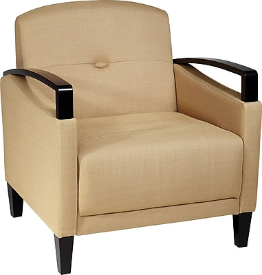 Office Star Ave Six main Street Fabric Accent Chair, Woven Wheat (MST51-C28)