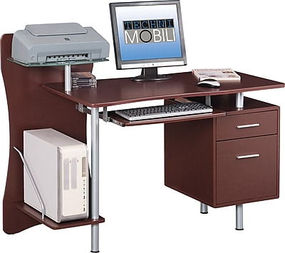 Charmant Https://www.staples 3p.com/s7/is/. ×. Images For Techni Mobili Computer Desk  With Storage, Brown