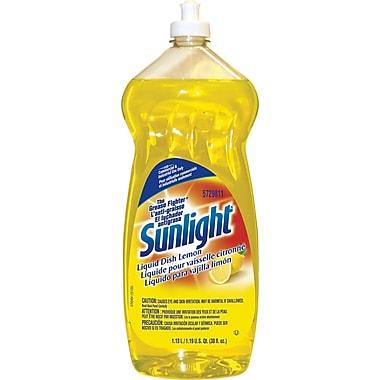 Sunlight® Liquid Dish Soap, Lemon Scent, 38 oz.