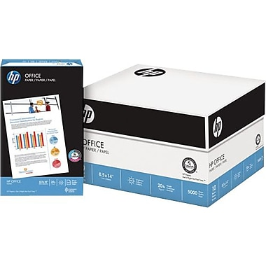 HP® – Papier à copies Office, 20 lb, 8 1/2 po x 14 po, bte