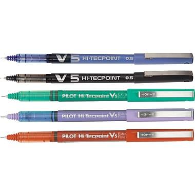 Pilot Hi-Tecpoint Rollerball Pens, V5