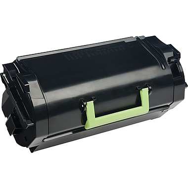 Lexmark Black Toner Cartridge (62D1X00), Extra High Yield, Return Program