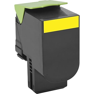 Lexmark Yellow Toner Cartridge (80C1HY0), High Yield, Return Program