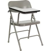 Flash Furniture HF-309AST-RT-GG Steel Folding Chair, Beige/Gray