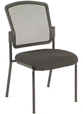 Raynor Eurotech Dakota Steel Guest Chair, Black (7014-BLK)