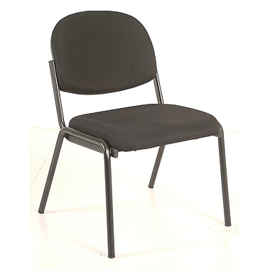 Raynor Eurotech Dakota Steel Guest Chair, Black (8014-BLK)