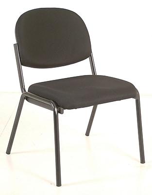 Raynor Eurotech Dakota Steel Guest Chair, Black (8014-BLK)