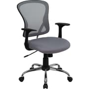 Flash Furniture Furniture Mesh Executive Office Chair, Gray, Fixed Arm (H8369FGY)
