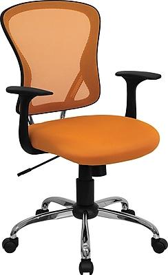 Flash Furniture Furniture Mesh Executive Office Chair, Orange, Fixed Arm (H8369FORG)