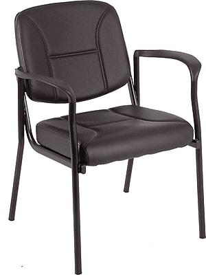 Raynor Eurotech Dakota Steel Guest Chair, Black (VS8012-BLKV)