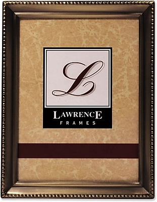 11435 Antique Gold Bead 3.5x5 Picture Frame