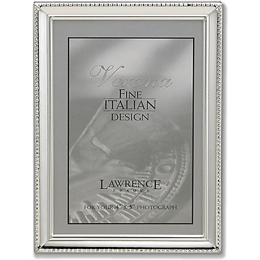 Lawrence Frames Metal Silver Picture Frame (6090)