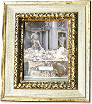 150245 Carved Antique Silver 4x5 Picture Frame