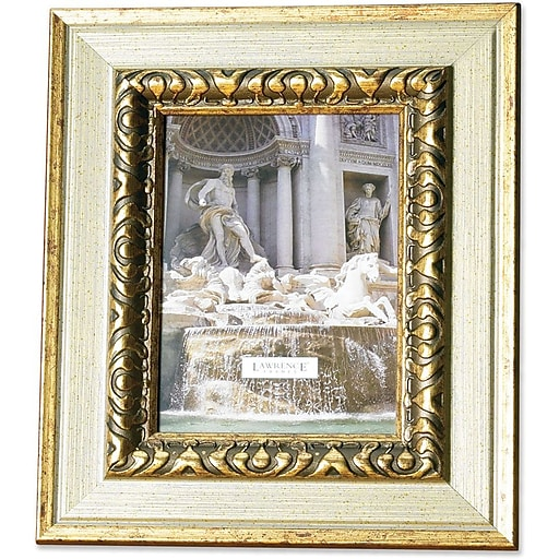 150245 Carved Antique Silver 4x5 Picture Frame Staples