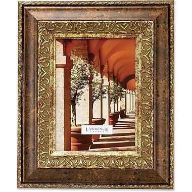 Carved Antique Bronze 4x6 Picture Frame Ornate Design