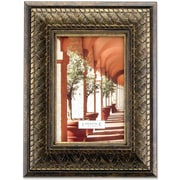 Bronze Basket Weave 4x6 Picture Frame
