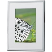Silver Plated Matted 4x6 Picture Frame