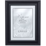 "Lawrence Frames Verona Collection 8"" x 10"" Metal Black Classic Rope Picture Frame (310080)"