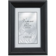 """Lawrence Frames Verona Collection 8"""" x 12"""" Wooden Black Picture Frames (410082)"""