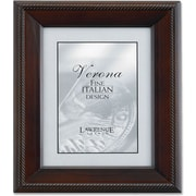 "Lawrence Frames Verona Collection 4"" x 5"" Wooden Walnut Picture Frame (410145)"