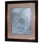 """Walnut and Black Wood 11"""" x 14"""" Picture Frames - Gold Line"""
