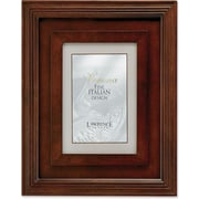 "Lawrence Frames Verona Collection 4"" x 6"" Wooden Walnut Picture Frame (41746)"