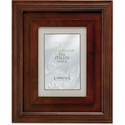 "Lawrence Frames Verona Collection 5"" x 7"" Wooden Walnut Picture Frame (41757)"
