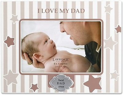 430146 I Love My Dad 4x6 Horizontal Picture Frame