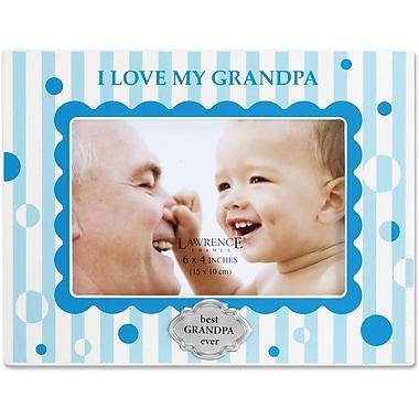 430346 I Love My Grandpa 4x6 Horizontal Picture Frame