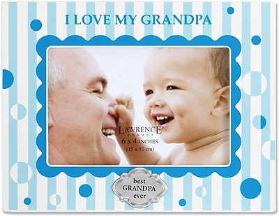 430346 I Love My Grandpa 4x6 Horizontal Picture Frame