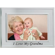 "Lawrence Frames Sentiments Collection ""I Love My Grandma"" 4"" x 6"" Metal Picture Frame (506564)"