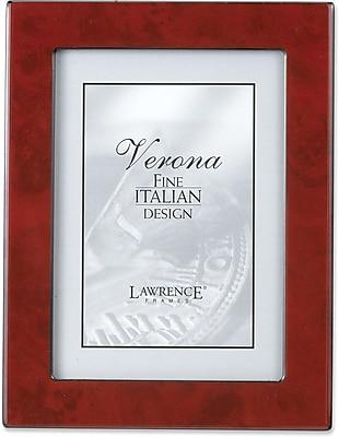 Lawrence Frames Verona Collection 8 X 10 Wooden Burgundy Burl