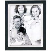 "Lawrence Frames 11"" x 14"" Solid Wood/Metal Black Picture Frame (705011)"