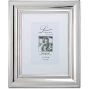 710480 Wide Silver Metal Elegance 8x10 Matted for 5x7 Picture Frame