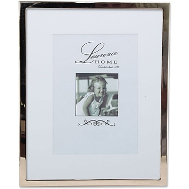 710680 Silver Standard Metal 8x10 Matted for 5x7 Picture Frame