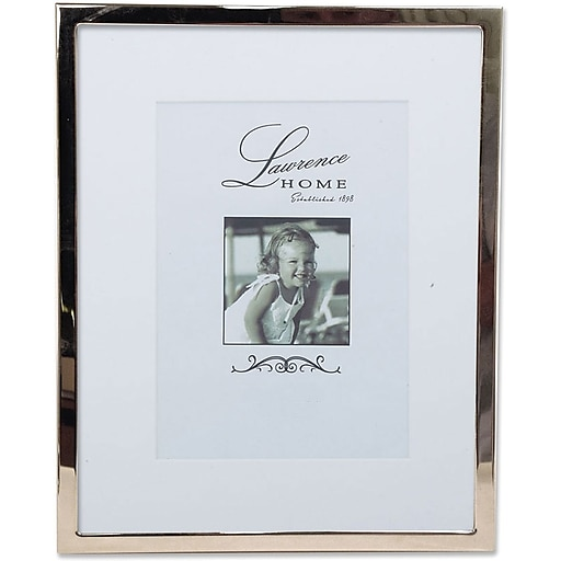 710680 Silver Standard Metal 8x10 Matted for 5x7 Picture Frame | Staples