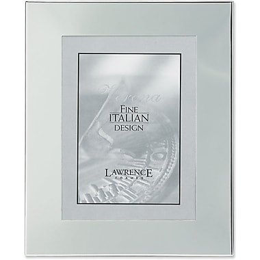 Silver Plated Engraveable 8x10 Metal Picture Frame