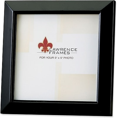 Black Wood 5x5 Picture Frame - Estero Collection