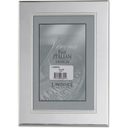 Silver Plated 4x6 Metal Picture Frame - Inner Bead
