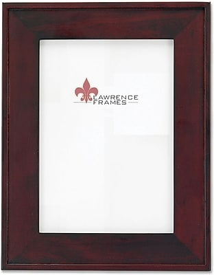 Dark Walnut Flat Wood 5x7 Picture Frame