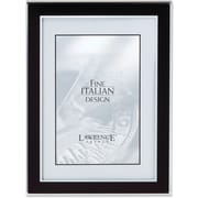 "Lawrence Frames Verona Collection 5"" x 7"" Metal Black Picture Frame (747057)"